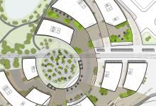 Transit Hub Plaza Plan